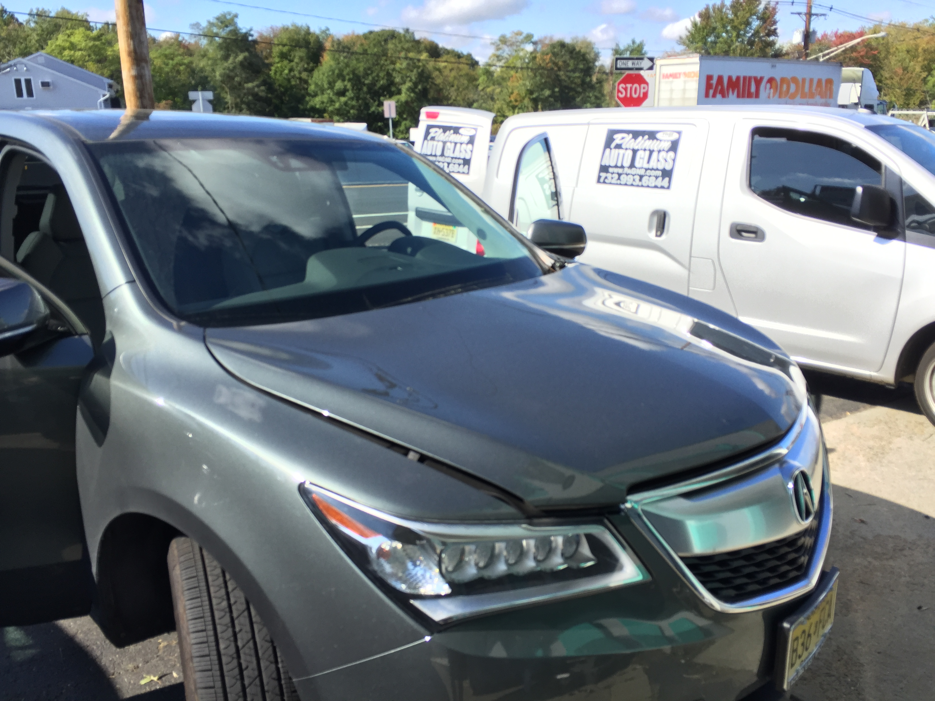 2015 Acura MDX Windshield Replacement Platinum Auto Glass NJ