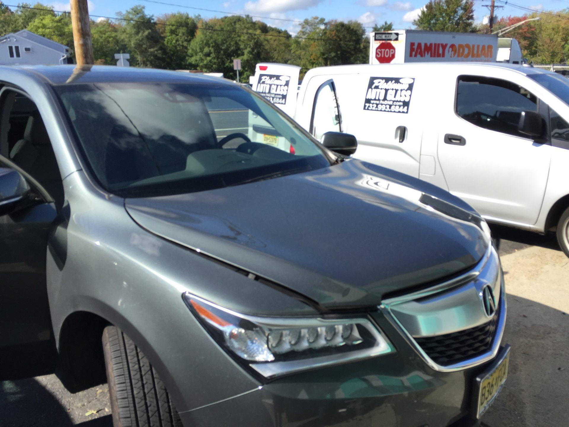 2014 Acura MDX windshield replacement Platinum Auto Glass NJ