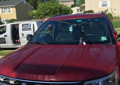 2014 Ford Explorer Windshield  stone chip repair all done