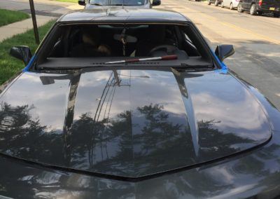 2012 Chevy Camaro Windshield Replacement cut out by Platinum Auto Glass New Jersey @ platinumautoglassnj.com