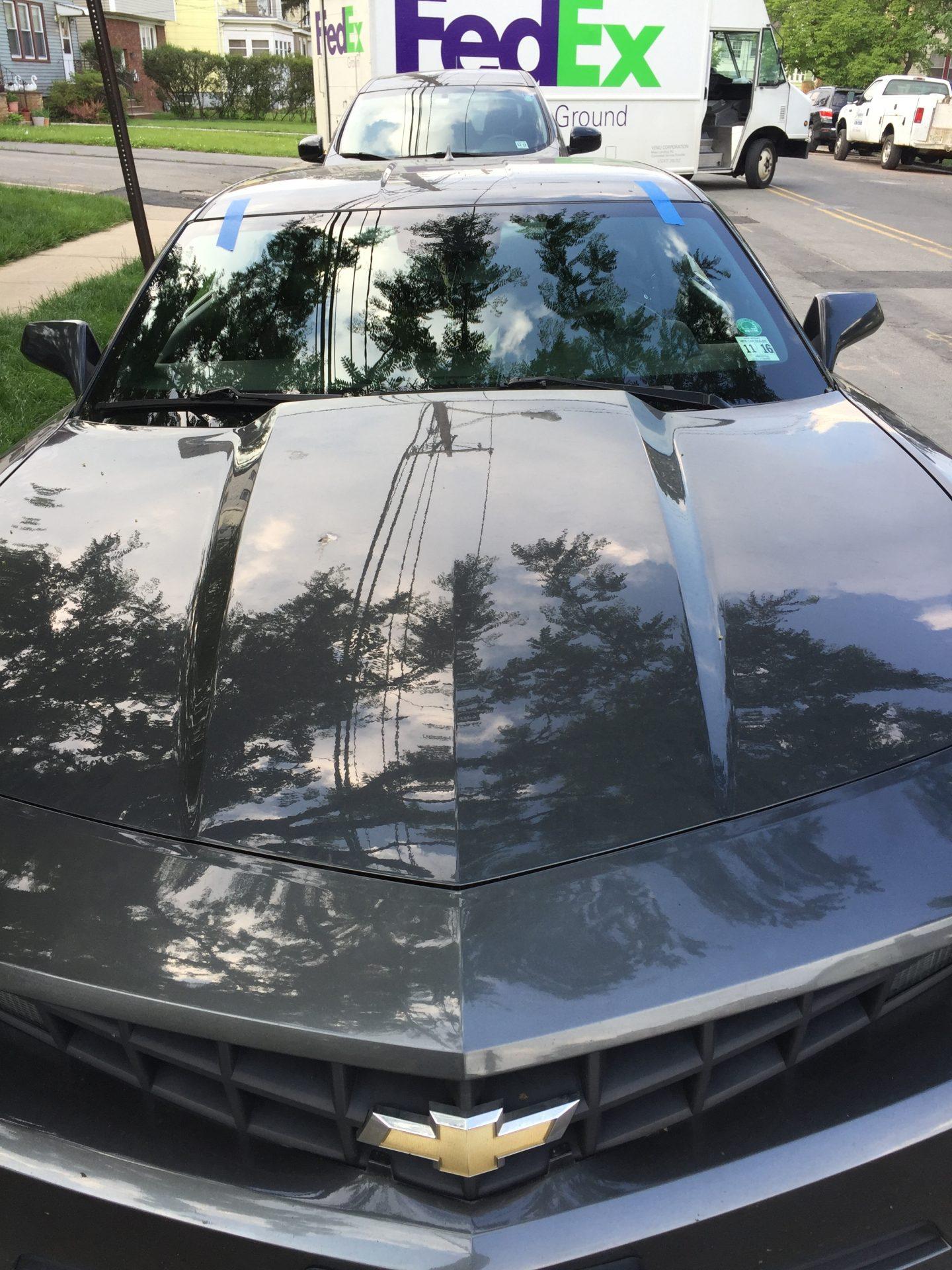 2012 Chevy Camaro Windshield Replacement Install Finish Platinum Auto Glass NJ