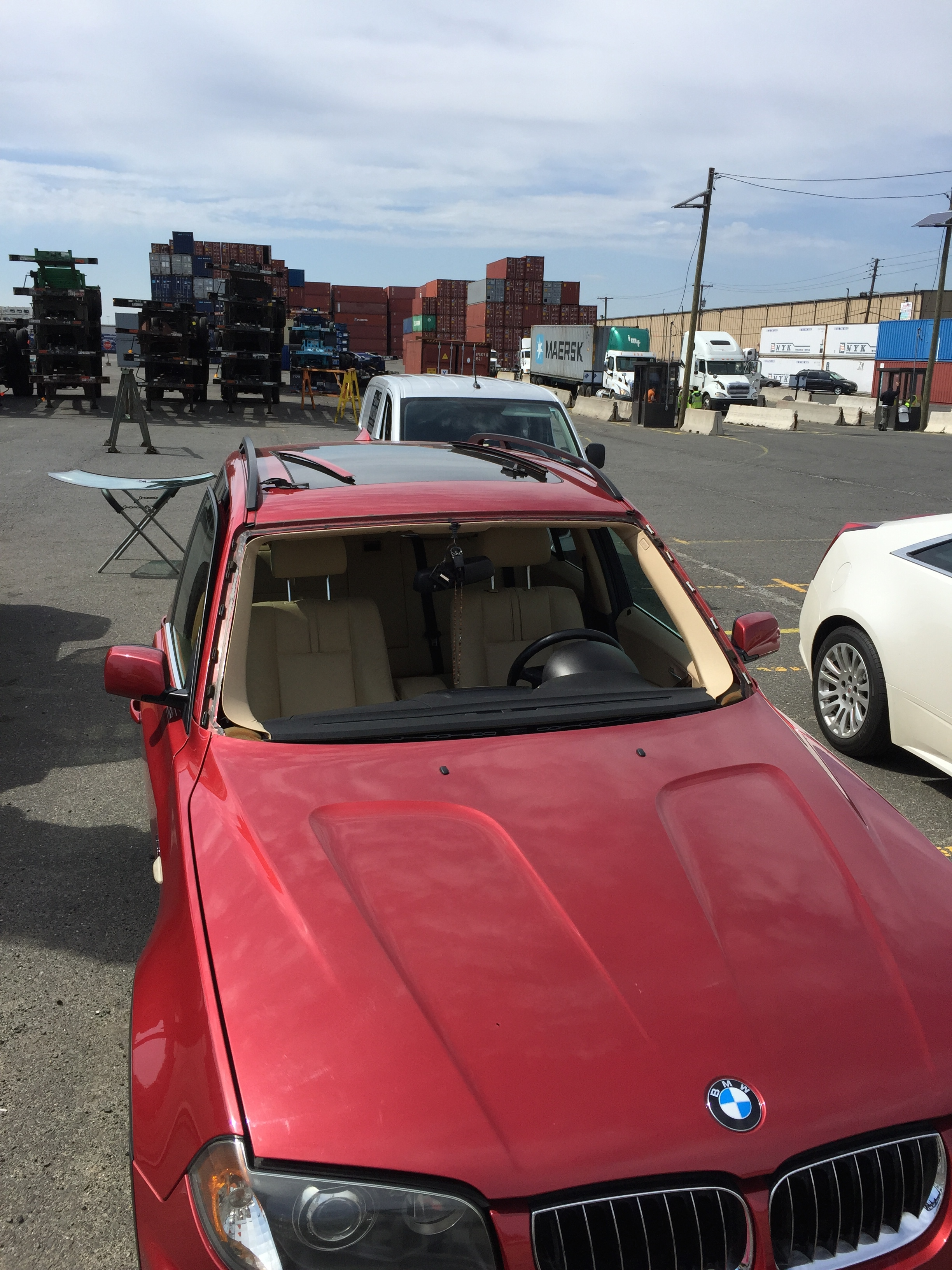 2013 BMW X3 windshield replacement  getting ready of install Platinum Auto Glass NJ @732-993-6844@platinumautoglassnj