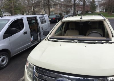 2012 Ford Edge ready for a new Truck SUV Windshield Replacement Install onsite in New jersey by Platinum Auto Glass New Jersey @732-993-6844@platinumautoglassnj.com