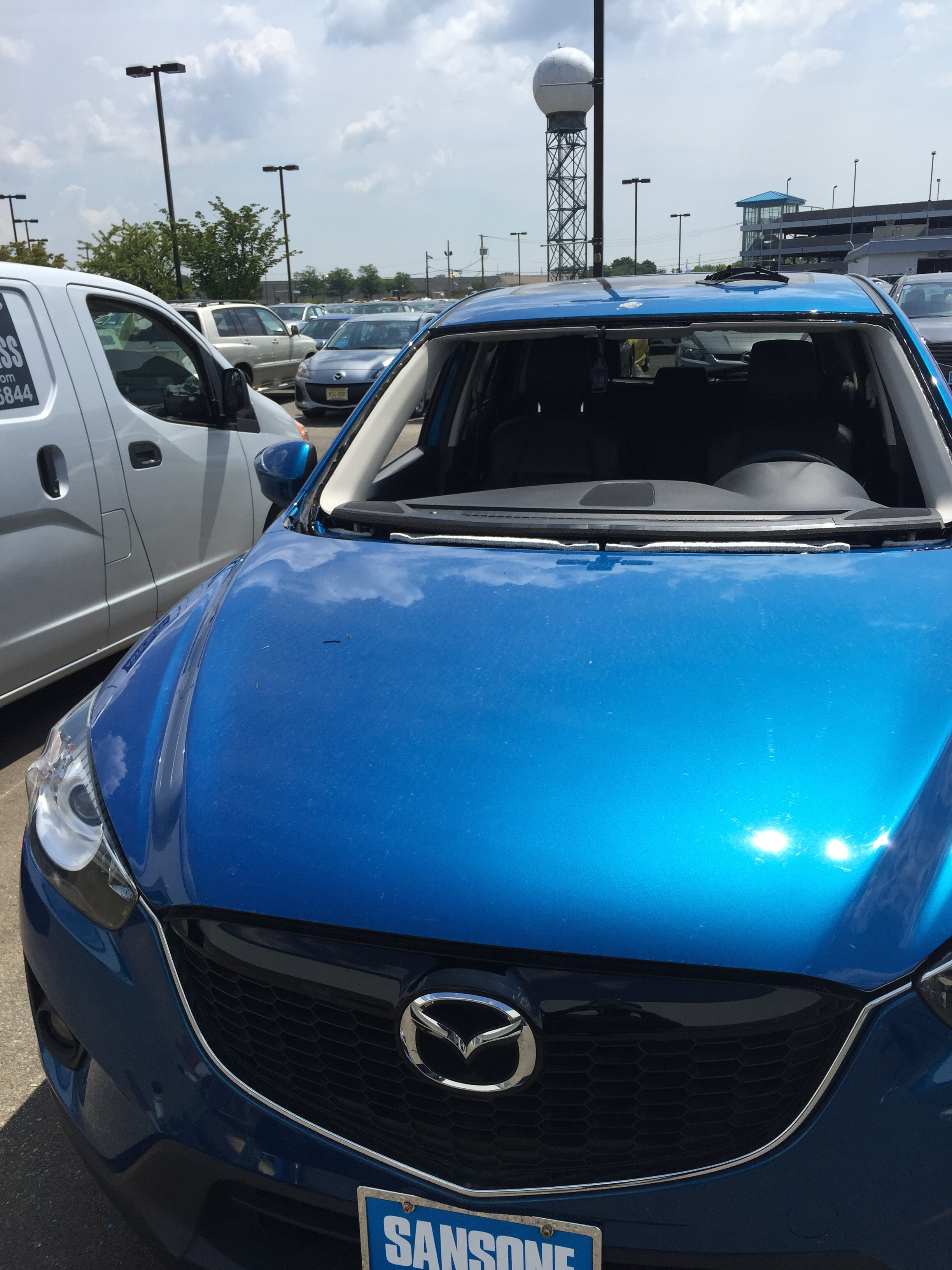 2016 Mazda Cx-6 Front Windshield