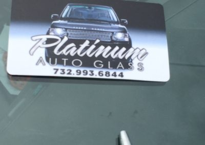 Windshield Chip Repair done an finish Platinum Auto Glass NJ