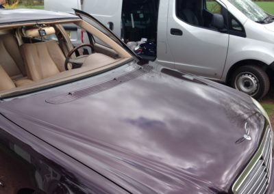 2002 S500 Mercedes Benz ready for a new windshield Install Platinum Auto Glass Linden NJ