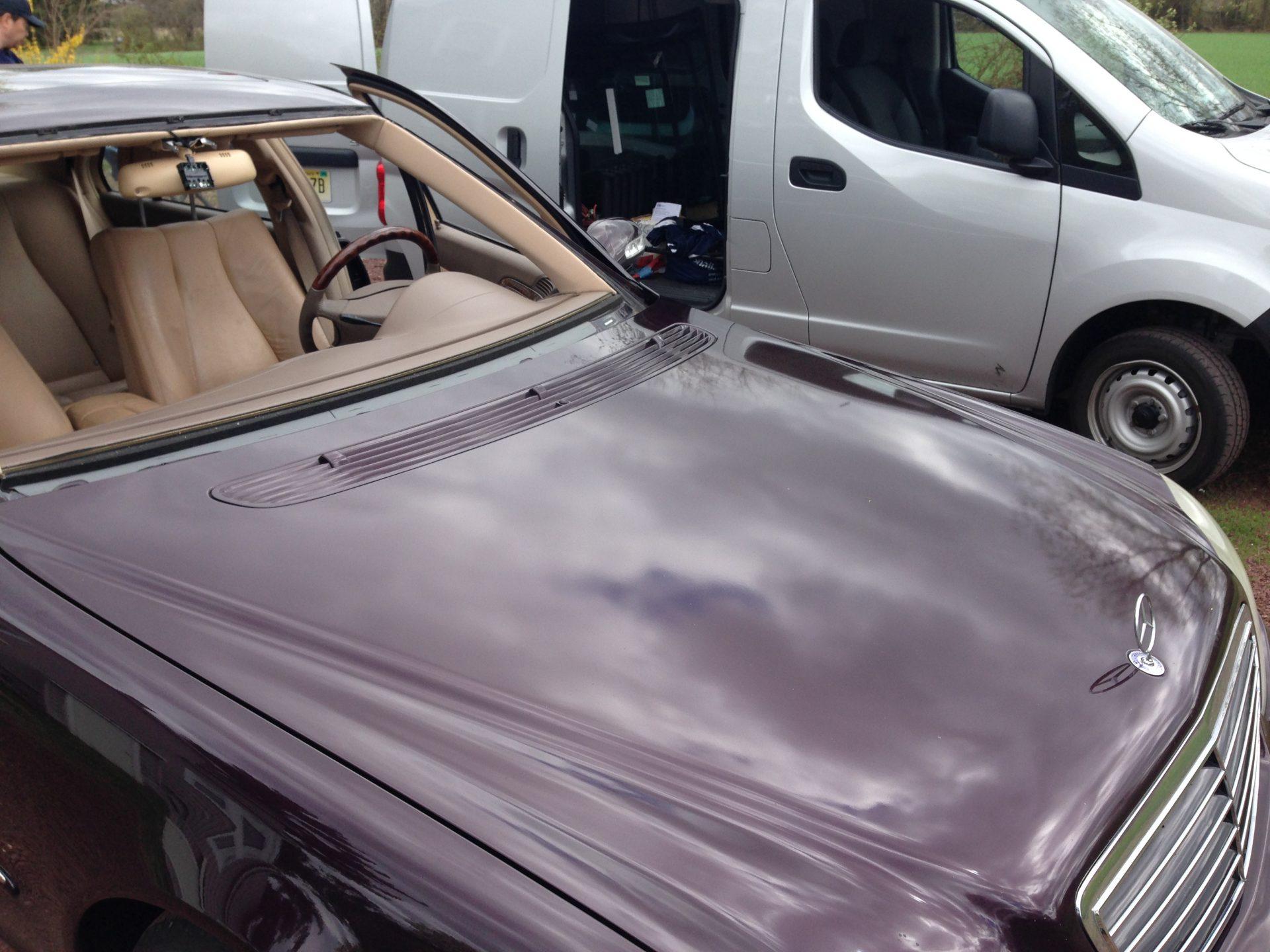 2002 S500 Mercedes Benz ready for a new windshield Install Platinum Auto Glass NJ @732-993-6844@platinumautoglassnj