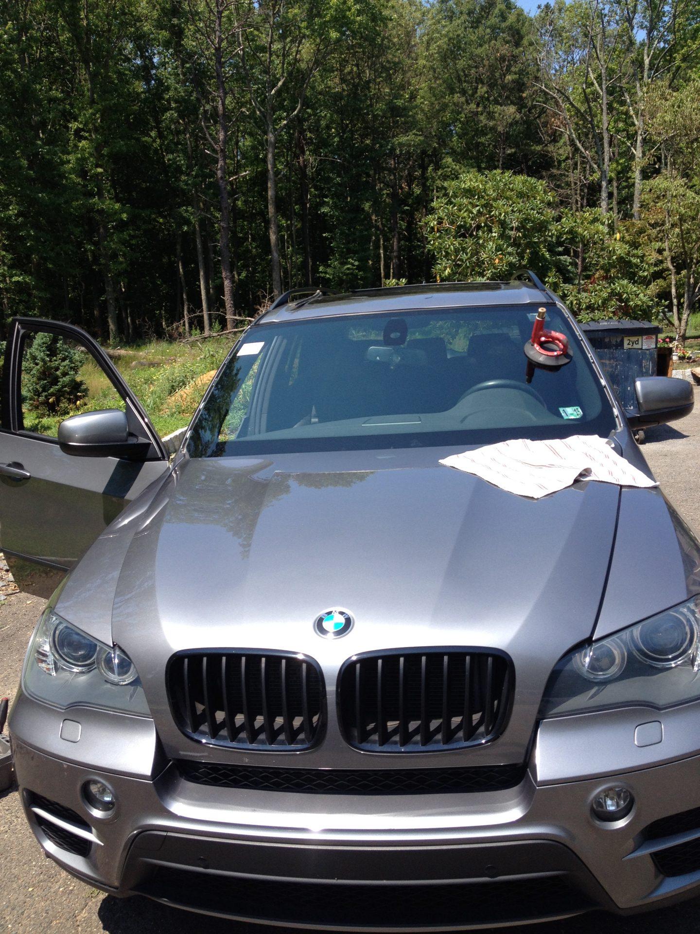 2012 BMW X5 install done Windshield Replacement by Morris County Platinum Auto Glass NJ@platinumautoglassnj