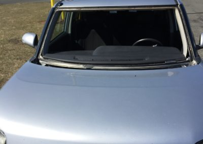 2010 Scion windshield replacement all done on-site Hudson County by Platinum Auto Glass New Jersey