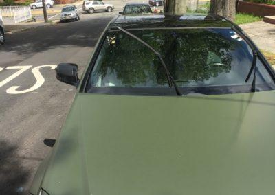 2012 Mercedes Benz windshield chip repair by Platinum Auto Glass Linden NJ