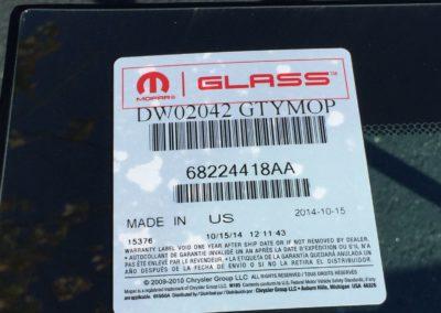 2017 Dodge Charger Windshield Replacement OEM Glass by  Platinum Auto Glass NJ@platinumautoglassnj