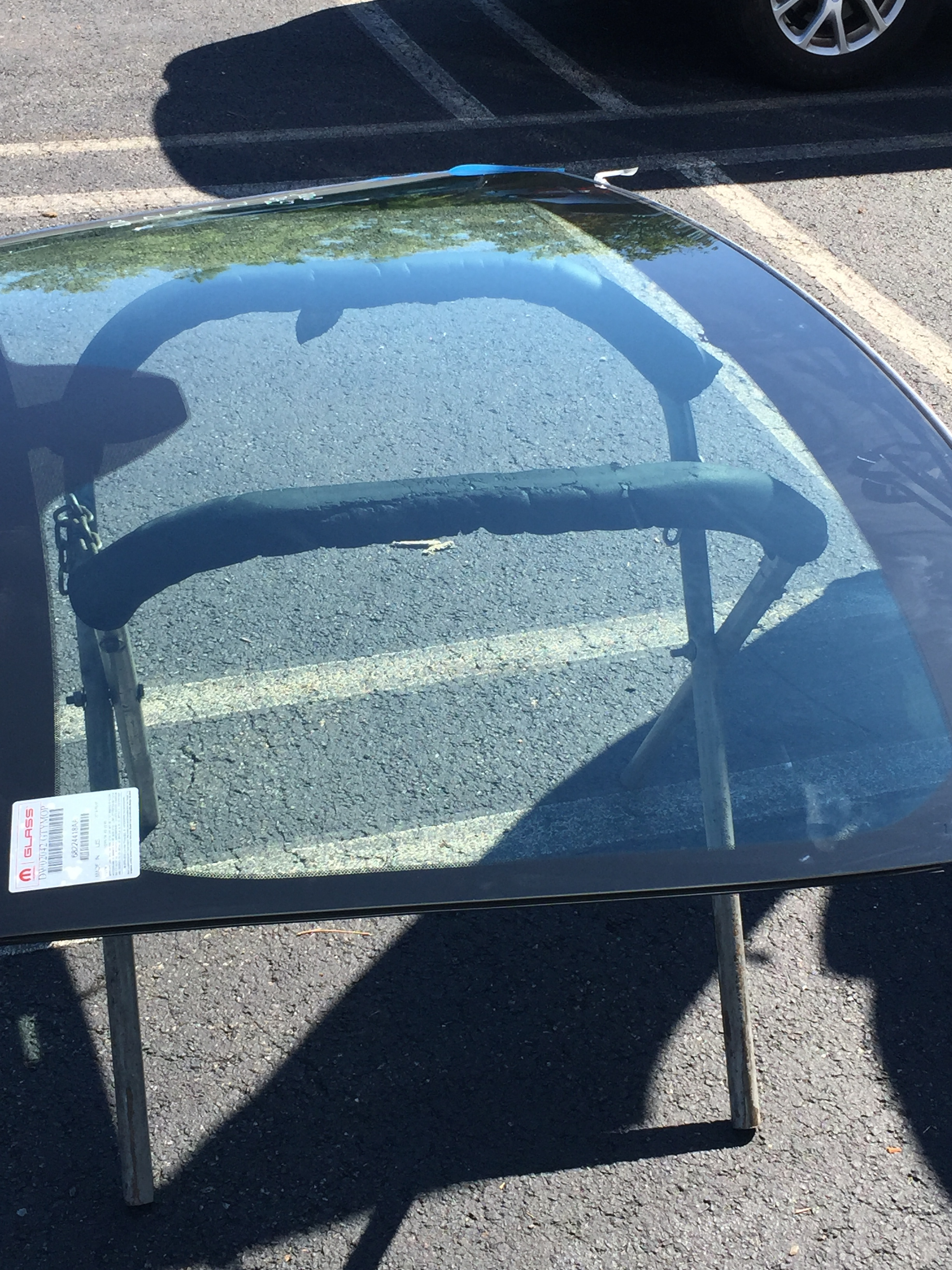 2017 Dodge Charger Windshield Replacement OEM Glass ready to go in by  Platinum Auto Glass NJ@platinumautoglassnj