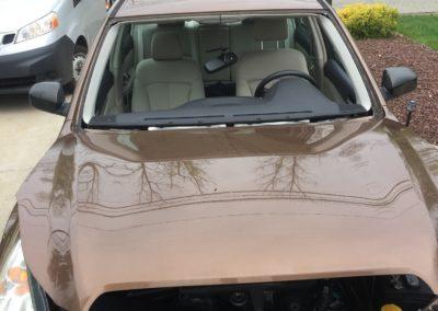 2017 Subaru Forester before windshield