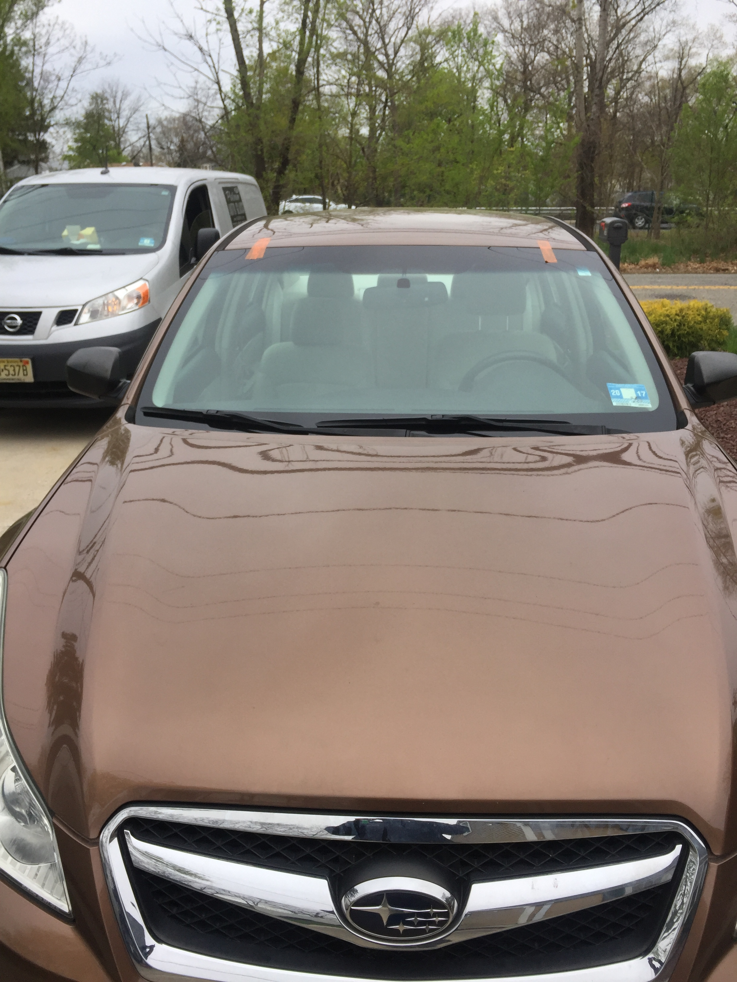 2017 Subaru Forester after windshield Platinum Auto Glass Linden New Jersey