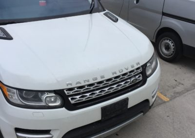 Windshield Crack Repair Range Rover