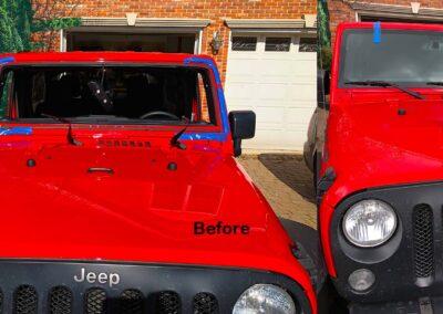 Jeep Wrangler Windshield Repair